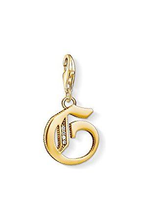 Thomas Sabo Bedelhanger voor dames G letter Charm Club 925 sterling zilver 1613-414-39