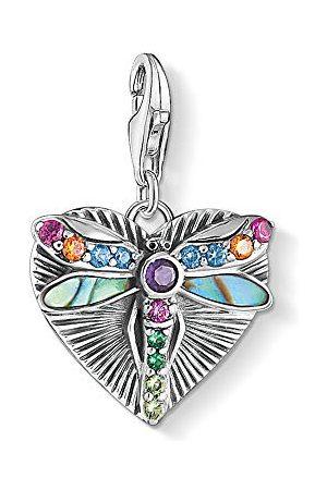 Thomas Sabo Dames-bedelhanger hart met libel zilver 925 sterling zilver 1811-964-7