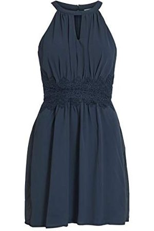 VILA Dames Vimilina halter neck dress/Su-Noos jurk
