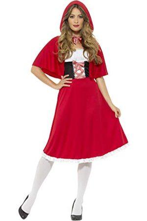 Smiffys Rode Rijkap Kostuum, , XL - UK Maat 20-22