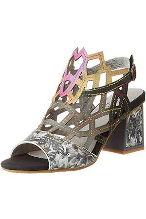LAURA VITA HACKIO 04, open sandalen met sleehak Dames 36 EU