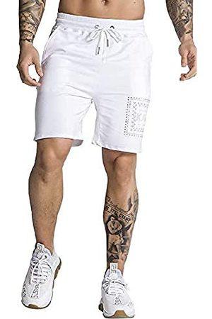 Gianni Kavanagh White Crystal Summer Shorts voor heren