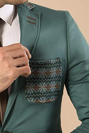 Wessi Business Suit Jacket met borstzak en kraag voor heren