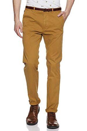 Scotch&Soda Heren Nos Stuart-Slim Fit Cotton/elastan Garment Dyed Chino Pant broek