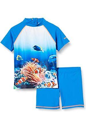 Playshoes Zwemshirt voor jongens, onderwaterwereld
