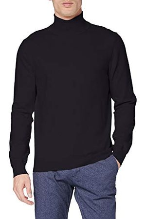 French Connection Heren Stretch Katoen Roll-Neck Coltrui - - M