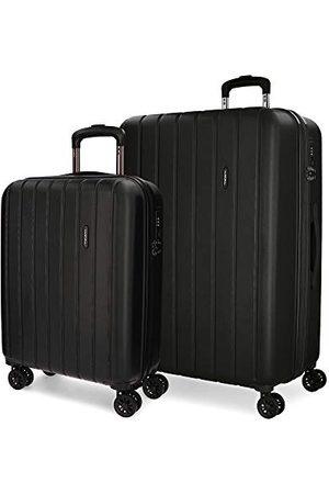 MOVOM Movon Wood koffer, Uitbreidbare set met 2 koffers, - 5318961