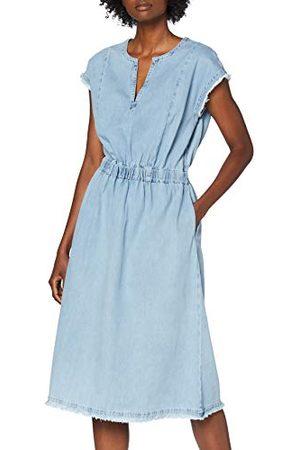 Herrlicher Prachtige dames Margo Dress Light denim jurk