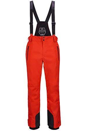 Killtec Enosh functionele broek voor heren, met afneembare bandjes, randbescherming en sneeuwvanger, , M