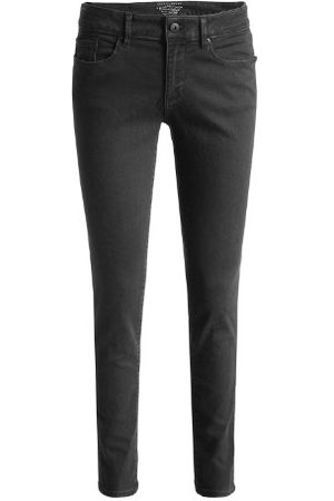 Esprit Dames jeans 113EJ1B026 Skinny Slim Fit (rouw) normale band