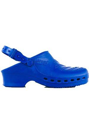 REPOSA Complete Sanitaire klompen, Sanitaire schoenen, Natuurlijk antistatisch SEBS-polymeer, Latexvrij, Gesloten bovenkant, Zijopeningen, Anatomische zool, SRB antislipzool, Autoclaveerbaar