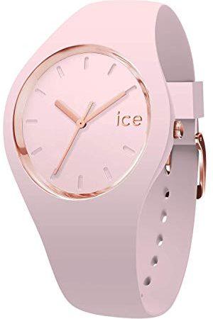 Ice-Watch ICE glam pastel Pink lady - dameshorloge met siliconen armband - 001065 (Maat S)
