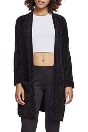 Urban classics Dames Dames Dames Oversize Chenille Cardigan Vest