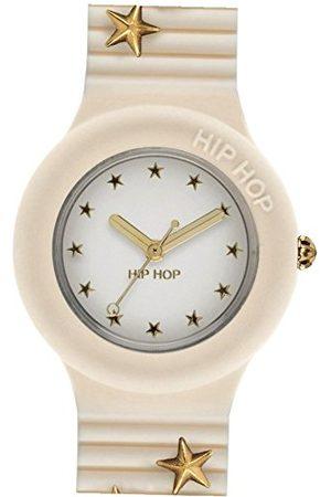 Hip Dames analoog kwarts horloge met siliconen armband HWU0754