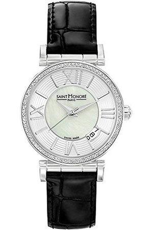 Saint Honore Dames analoog kwarts horloge met lederen armband 7520121YRN