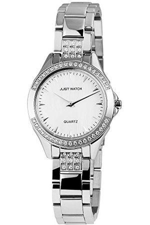 Just Watches Dames analoog kwarts horloge met roestvrijstalen armband JW10033-002
