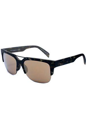 Italia Independent 0918-140-000 zonnebril, bruin/ , 53 heren