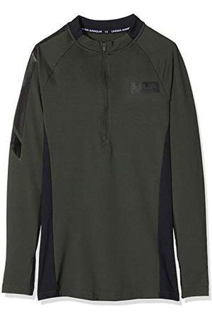 Under Armour Heren Jersey Lange Mouwen Ua Gametime Coldgear Shirt met ½ Zip, , XS