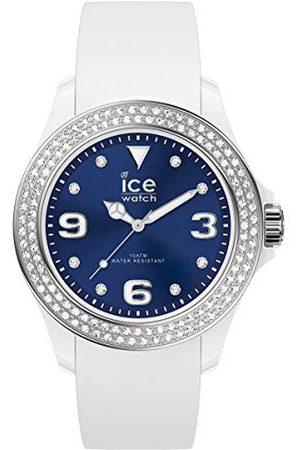 Ice-Watch ICE star White deep blue - dameshorloge met siliconen armband - 017234 (Maat S)