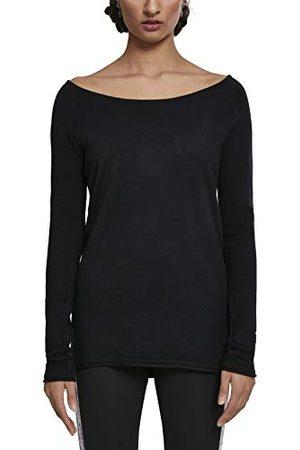 Urban classics Raglan Long Sweater voor dames, met brede hals