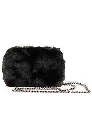 Eferri Glamour Tom avondtas voor dames, zwart, 17 x 11 x 6 cm