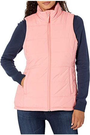 Amazon Dames Mid-Weight Puffer Vest, ,S-M