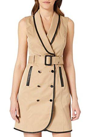 Morgan Damesjurk trenchcoat risette casual jurk