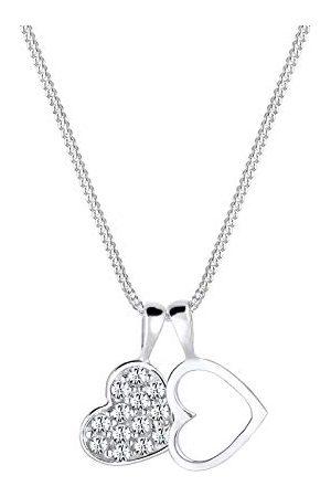 Elli Dames. .925 Sterling Silber Zilver Brillantschliff kristal