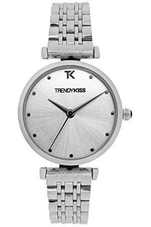 Trendy Kiss Dameshorloge, analoog, kwarts, met stalen armband, TM10137-03