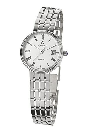ORPHELIA Dames analoog kwarts horloge met witgoud armband MON-7077