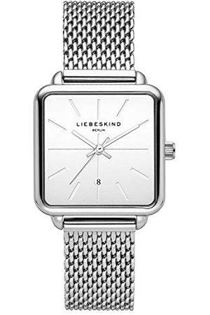 liebeskind Dames Analoog Quartz Horloge met Roestvrij Stalen Armband LT-0150-MQ