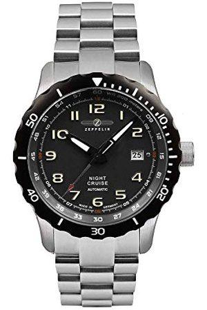 Zeppelin 7264M2_Set Automatisch herenhorloge met roestvrijstalen armband