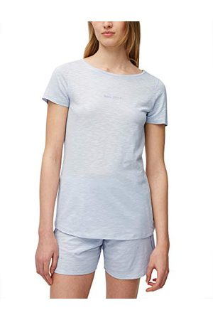 Marc O'Polo Body & Beach Marc O'Polo Body & Beach dames korte pyjama Loungewear ronde hals pyjamaset