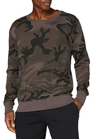 Build Your Brand Camo Crewneck Pullover Sweater voor heren