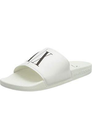 Armani Mannen Ax Icoon Logo Pool Slides Flip Flops