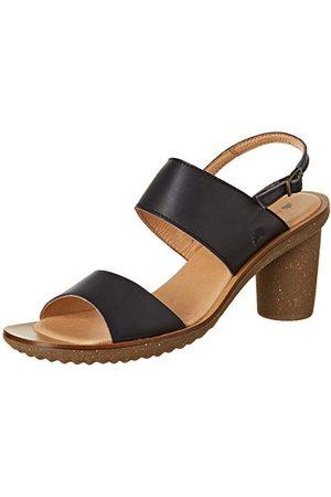 El Naturalista N5154 Vaquetilla Black/Trivia High Heels voor dames