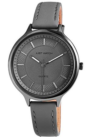 Just Watches Dames analoog kwarts horloge met lederen armband JW10043-003