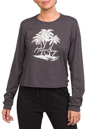 Hurley W Scriptor Palms Perf LS T-shirt voor dames