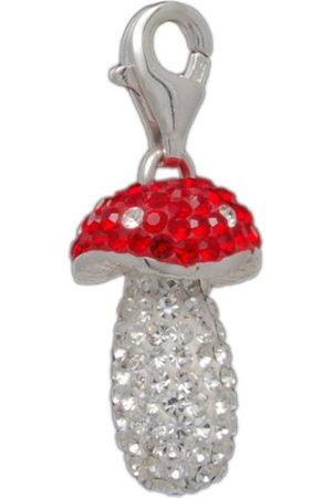 Melina Dames-bedel hanger paddenstoel kristal 925 sterling zilver 1801360