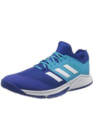 adidas Court Team Bounce M Sneakers voor heren, Azurea/Ftwbla/Versen, 48 2/3 EU