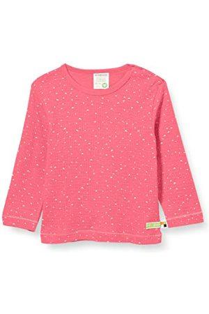 loud + proud Baby-meisjesshirt wafle knit organisch katoen lange mouwen
