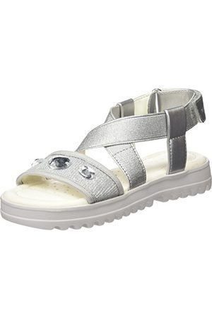 Geox J826EF0NHEW, open sandalen met sleehak meisjes 31 EU
