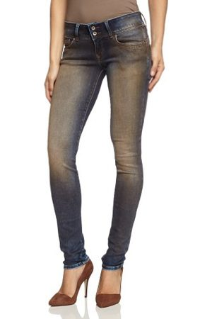 Cross Jeans dames jeans P 481-391 Melissa Skinny Slim Fit (groen) normale tailleband