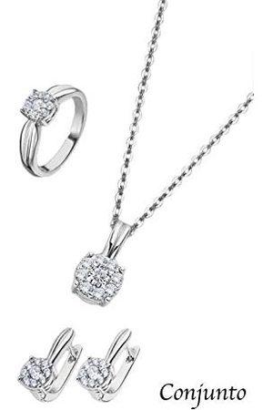 Lotus Ring Set halsketting, oorbellen en ring Trendy LP3120-6/314 LP3120-6/314 merk