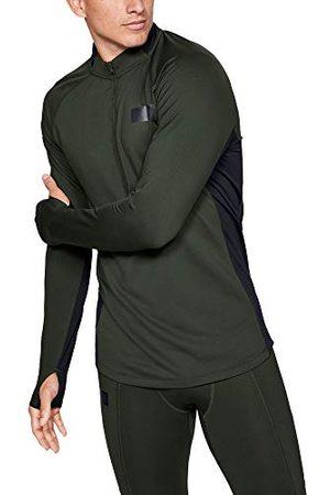 Under Armour Heren Jersey Lange Mouwen Ua Gametime Coldgear Shirt met ½ Zip, , LG