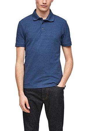 s.Oliver Poloshirt voor heren, blue melange, XL