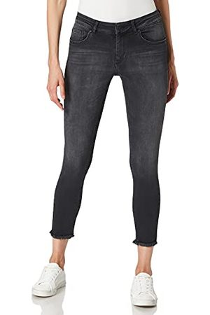 Carmakoma Dames Carwilly Reg ANK Skinny Black Noos Jeans