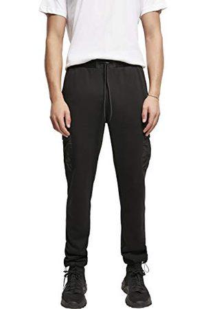 Urban classics Heren joggingbroek met cargozakken Commuter sweatpants, sportbroek voor mannen in 2 kleuren, maten S - XXL