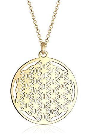 Elli Halsketting Ornament Lebensblume Symbol 925 Sterling Silber