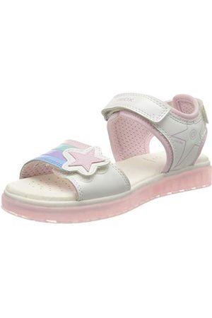 Geox U02V1A04310, open sandalen met sleehak Meisjes 24 EU